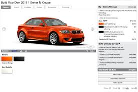 bmw usa accessories bmw usa introduces 1 series m coupe configurator autoevolution