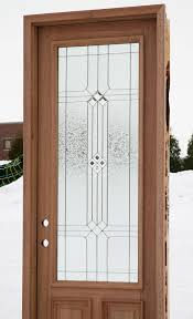 Front Door Windows Inspiration Great Wood Door With Glass 58 In Designing Home Inspiration With