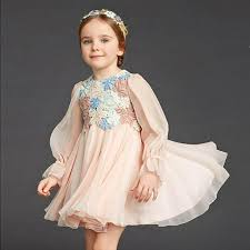 2018 pretty baby girls dress 2017 new children clothing floral