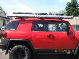 Baja Rack Fj Cruiser Ladder by 2012 Wolverine Build Page 7 Toyota Fj Cruiser Forum
