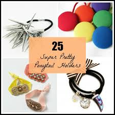 ponytail holders 25 pretty ponytail holders