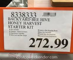 summerhawk ranch victorian teak backyard beehive with twin honey