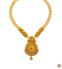 red stone gold necklace images Fancy red stone golden shahihar parmar jewellersparmar jewellers jpg
