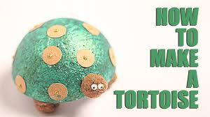 how to make tortoise diy tortoise kids art and craft learn