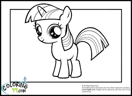 my little pony coloring pages twilight sparkle chuckbutt com