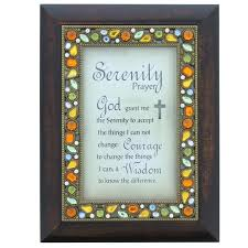 serenity prayer picture frame prayer of serenity catholic images