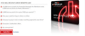 apply for gamestop powerup rewards credit card application form