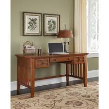 Mission Style Home Office Furniture by Home Styles Arts And Crafts Cottage Oak Desk 5180 15 The Home Depot