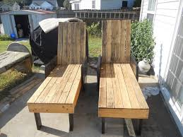 Diy Lounge Chair Outdoor Pallet Lounge Chairs Pallet Furniture