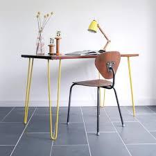 vintage hairpin table legs hairpin leg range mustard vintage