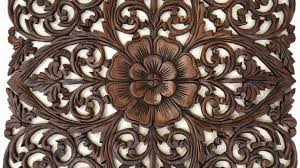 peaceful design ideas carved wood wall decor antique balinese