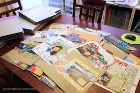 scrapbook albums thoughts on scrapbook album organization your memory connection