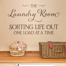 Laundry Room Decoration by Laundry Room Wall Sticker By Making Statements