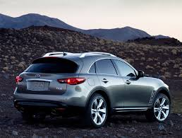 infinity car back infiniti fx review and photos