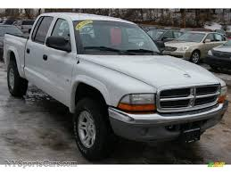 dodge dakota crew cab 4x4 for sale 2001 dodge dakota slt cab 4x4 in bright white photo 9