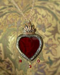 from the studio parrish relics jewelry sacred heart a jewelry