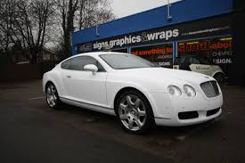 bentley arnage white wraap gallery bentley continental white wrap