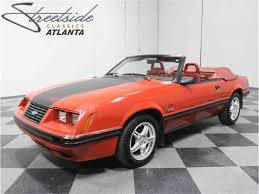 1985 Mustang Convertible 1984 Ford Mustang For Sale On Classiccars Com 14 Available