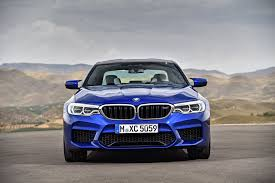 2018 bmw m5 officially arrives with 600 hp and awd autoguide com