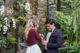 Daniel Stowe Botanical Garden by Daniel Stowe Botanical Garden Romantic Wedding Proposal