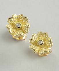 gold earrings for women 31 model gold earrings studs for women playzoa