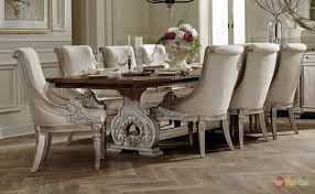 white formal dining chairs room furniture wood cherry halyn