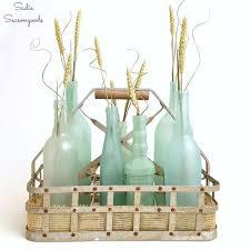 Summer Decor Diy Sea Glass Bottles For Summer Decor Hometalk