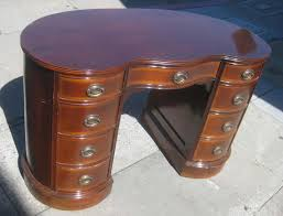 Kidney Bean Shaped Desk Uhuru Furniture Collectibles Sold Mrs Kidney Bean Shaped