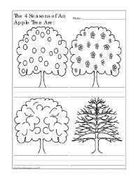 number names worksheets seasons worksheets for kindergarten