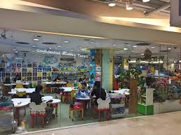 indoor play area for kids in central world bangkok with kids