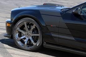 Black Mustang Saleen Saleen Unveils 2009 Dark Horse Mustang Mustangs Daily