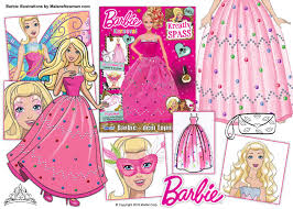 freelance illustrations for barbie magazine