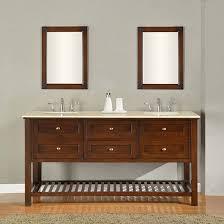 claremont double 70 inch transitional bathroom vanity espresso