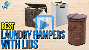 Laundry Hampers With Lid by Top 10 Laundry Hampers With Lids Of 2017 Video Review