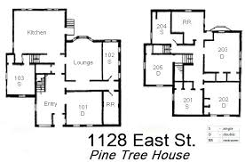 Tree House Floor Plan Campus Language And Project Houses Grinnell College
