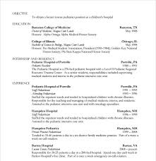 Medical Doctor Resume Example Resume by 15 Doctor Resume Templates Free Samples Examples