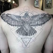 eagle back tattoo best tattoo ideas gallery
