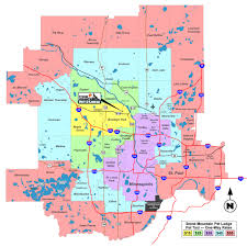 Minneapolis Zip Code Map by Stone Mountain Pet Lodge