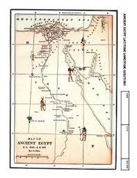 worksheet ancient egypt latitude longitude questions u0026 map by