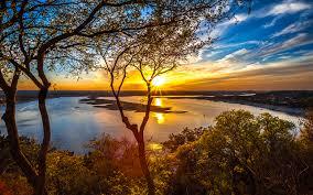Texas scenery images Wallpaper texas usa lake travis nature sky sunrises and sunsets jpg