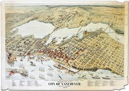 Canadian Pacific Railway Map A Short History Of Gastown The Birth Of Vancouver Canada