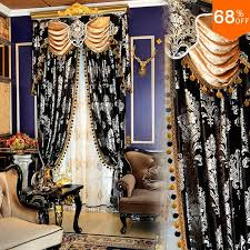 Luxury Grey Curtains Find More Information About Luxury Jacquard Black Silver Grey