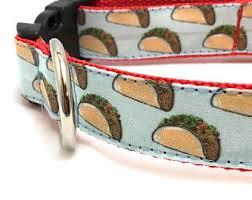 tuesday collar etsy taco dog collar etsy