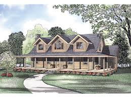 southern house plans wrap around porch pioneer park rustic log home plan 073d 0028 house plans and more
