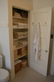 bathroom closet design linen closet organization home design by