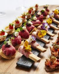 m canapes canapes weddings at powerscourt house canapes and starters canapes