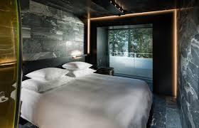 chambre architecte un hôtel de zumthor à vals suisse revé par morphosis