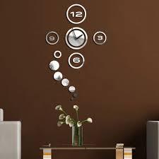 decorative wall clocks online india sticker wall clock india