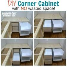 How To Build A Base Cabinet by Diy Blind Corner Cabinet Fix Kitchen Best Of Saving The Family