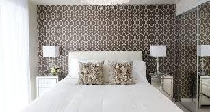 Bedroom Wallpaper Design 22 Geometric Wallpaper Designs Decor Ideas Design Trends